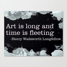 Fleeting Canvas Print