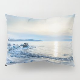 Frozen wharf and Halo Pillow Sham