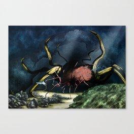 Deep Horror Canvas Print
