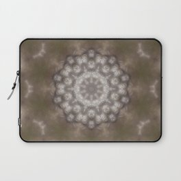 Silver and gold CB Laptop Sleeve