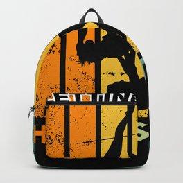 Funny Acroyoga Design for Yoga Acrobat Backpack
