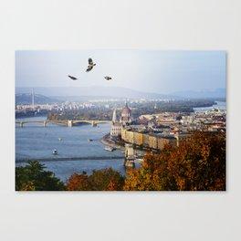 Budapest, Hungary. Canvas Print