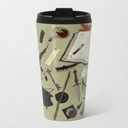 Witchy Materials Metal Travel Mug