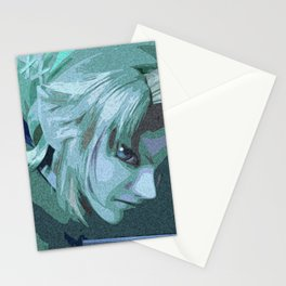 Blue vs Green Stationery Cards