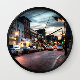 Downtown Annapolis Wall Clock