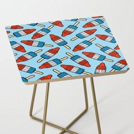 Rocket Popsicle Pattern Side Table