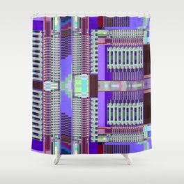 Gentrification Sensation Shower Curtain