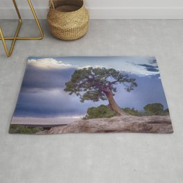 The Tree on the Edge Rug