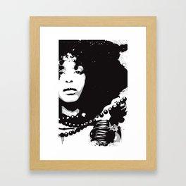 Erikah BADU by Besss - 2011 Framed Art Print