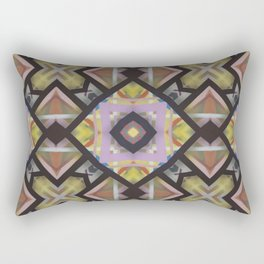 Square Matrix Rectangular Pillow