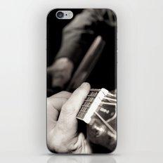 Playing the guitar iPhone & iPod Skin