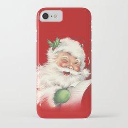 Vintage Santa iPhone Case