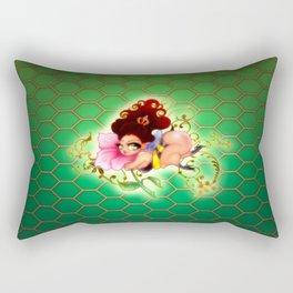Honey Bea Rectangular Pillow