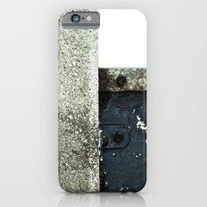White Blue Concrete Slim Case iPhone 6s