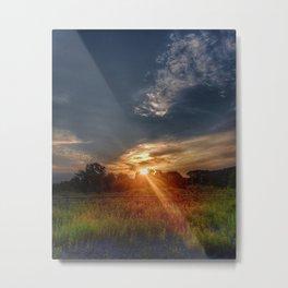 Sunshine's Goodnight Kiss Metal Print