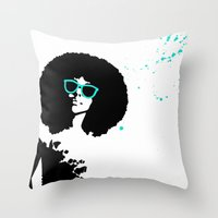 scorpio Throw Pillows featuring Scorpio by Bree Stillwell Craft