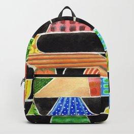 Black versus Color Backpack