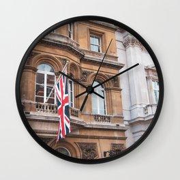 English Scene, Union Jack Wall Clock