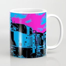 Vintage Steam Train Coffee Mug