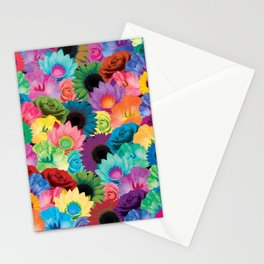 Flower Avalanche Stationery Cards