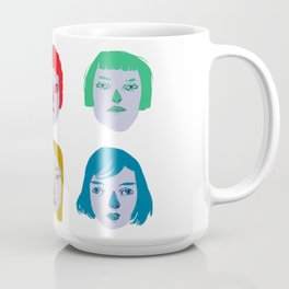The Powerful Female Heads Coffee Mug