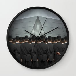 An Honest Man Wall Clock