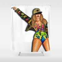 versace Shower Curtains featuring JLo Versace by Anthony Michael