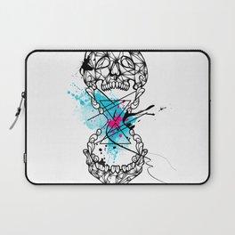 Abstract skull Laptop Sleeve