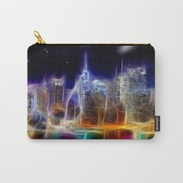 Starry Night New York City Carry-All Pouch