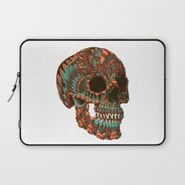 Ornate Skull (Color Version) Laptop Sleeve