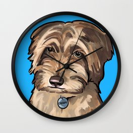 Chewie Portrait Wall Clock