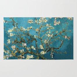 Blossoming Almond Trees, Vincent van Gogh. Famous vintage fine art. Rug