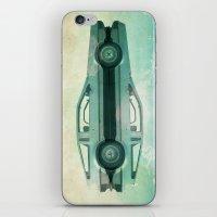 delorean iPhone & iPod Skins featuring Siamese  Delorean by Vin Zzep