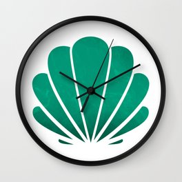Mermaid's seashell Wall Clock