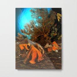 Porters huddled under the ocean Metal Print