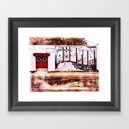 Austin Capital Framed Art Print