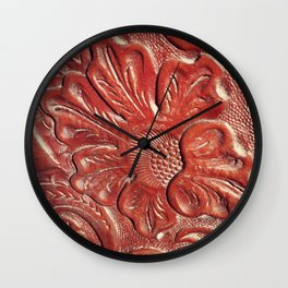 Tooled Wall Clock