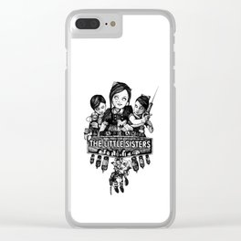 Rapture's Emblems : The Little Sisters Clear iPhone Case