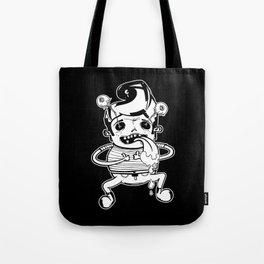 Happy Mono Elvis Tote Bag