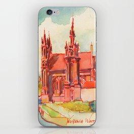 Vilnius - St. Anne's  iPhone Skin