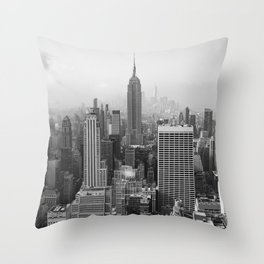 New York State of Mind II Throw Pillow