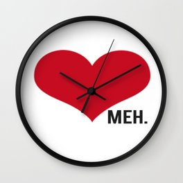 Side Meh. Wall Clock