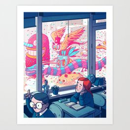 Daydreamer Art Print