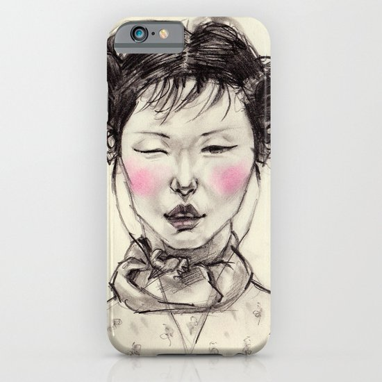 Chinese Girl iPhone & iPod Case
