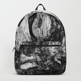 Shapes in wood. Backpack
