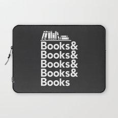 Books & Books & Books Laptop Sleeve