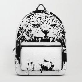 Roaring leopard Backpack