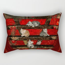 Sweet little kitten Rectangular Pillow