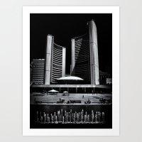 Toronto City Hall No 6 Art Print