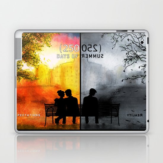 250/250 Days of Summer.... Laptop & iPad Skin